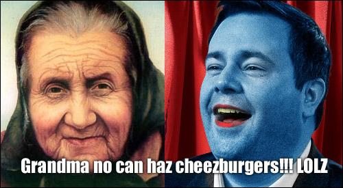 Granny vs Kenney-Blue Meanie
